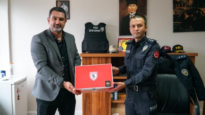 Samsunspor'dan Eskişehir Emniyetini ziyaret